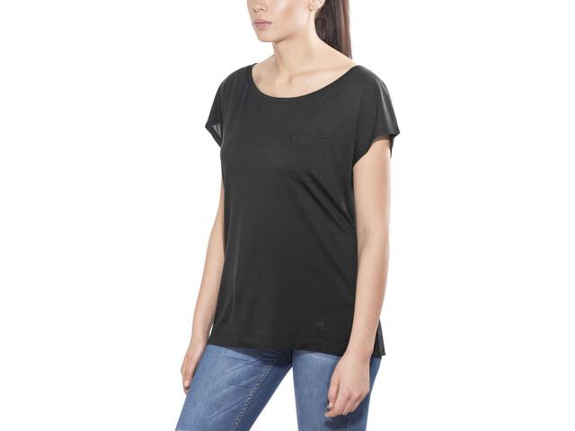 Arc'teryx A2B Bluzka z krótkim rękawem Kobiety, black